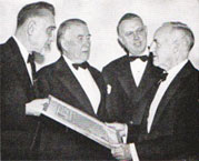 First award presentation 1949